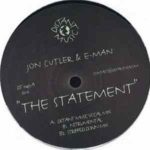 Jon Cutler & E-Man - The Statement Scaricare