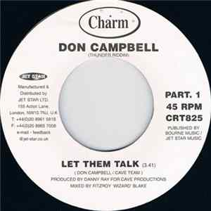 Don Campbell - Let Them Talk Scaricare
