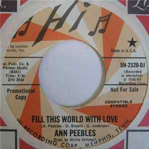 Ann Peebles - Fill This World With Love Scaricare