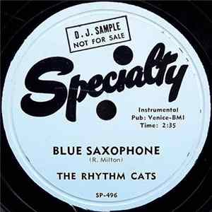 The Rhythm Cats - Blue Saxophone / Cool Caravan Scaricare
